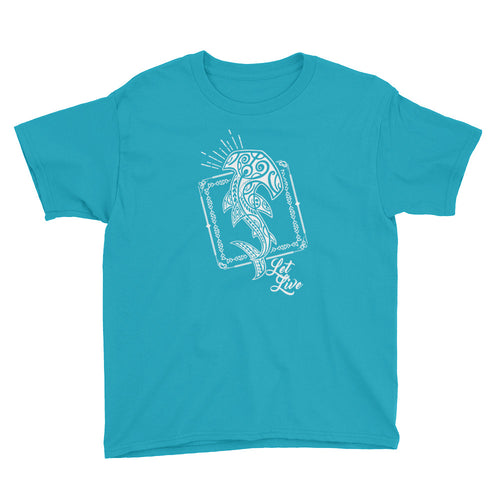 Youth Short Sleeve T-Shirt - Let Live Tribal