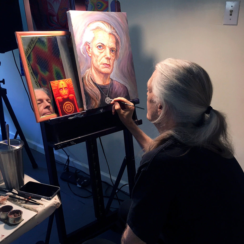 My experience at the Visionary Painting Intensive with Allyson and Alex Grey