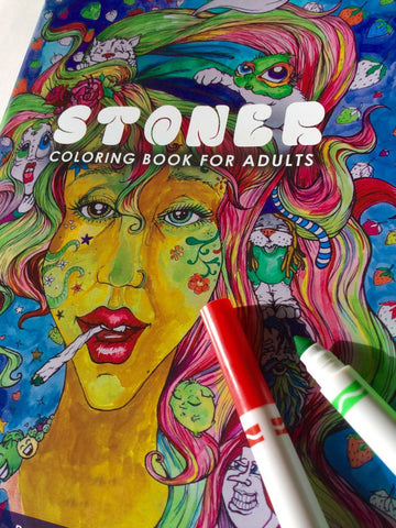 Stoner Coloring Book Vol.1