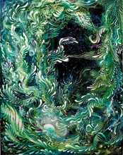"Load image into Gallery viewer, ""Sirens Song"" Original Painting"