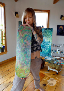 """Energy in Rhythm"" Skateboard Deck"