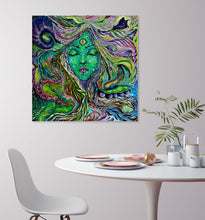 "Load image into Gallery viewer, ""Sentient"" Original Oil Painting"