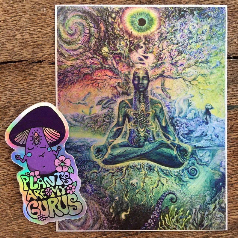 2 Holographic Stickers Combo Deal