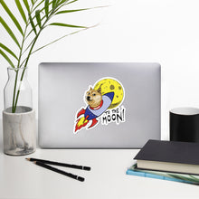 Load image into Gallery viewer, Doge To The Moon Vinyl Stickers