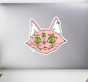 Pussy Power Stickers