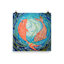 "Load image into Gallery viewer, ""Pisces"" Poster Print"