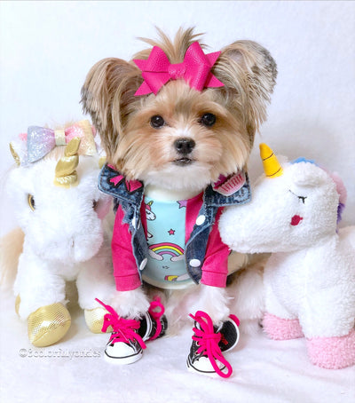 Storybook Snugglerz - Charlotte the Unicorn Dog Toy