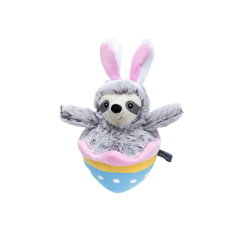 Eggstra Special Sloth Plush Dog Toy-Plush Dog Toy-Gift Spawt