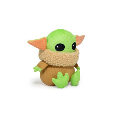 Sitting Baby Yoda Squeaky Dog Toy-Plush Dog Toy-Gift Spawt