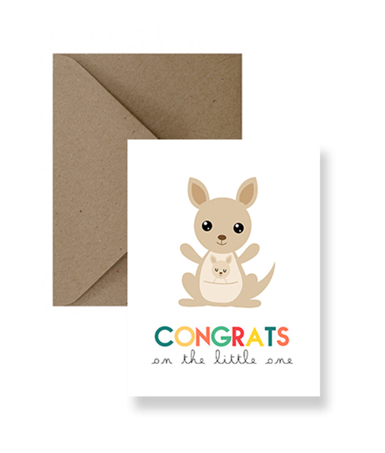 Congrats On The Little One Card | Greeting Cards | Gift Spawt