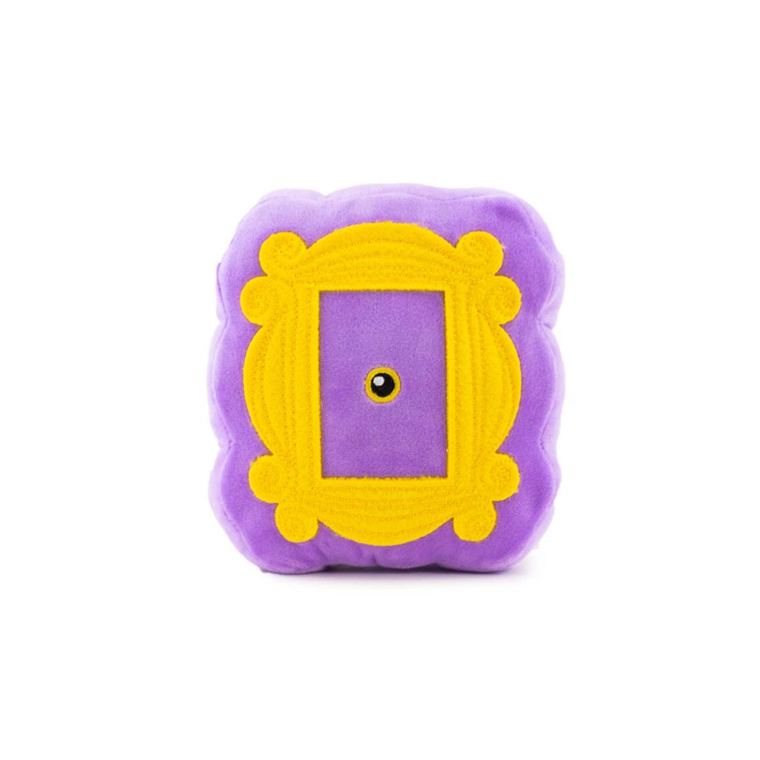 Friends Dog Toy - Purple Peephole Frame-Plush Dog Toy-Gift Spawt