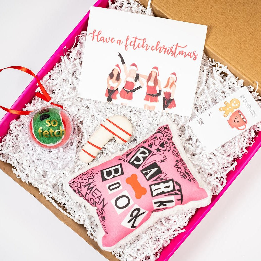 Fetch Christmas Mean Girls Gift Set-Puppy Care Package-Gift Spawt