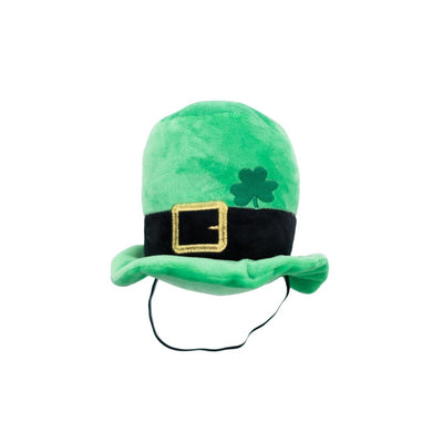 Plush Lucky Leprechaun Hat-Plush Dog Toy-Gift Spawt