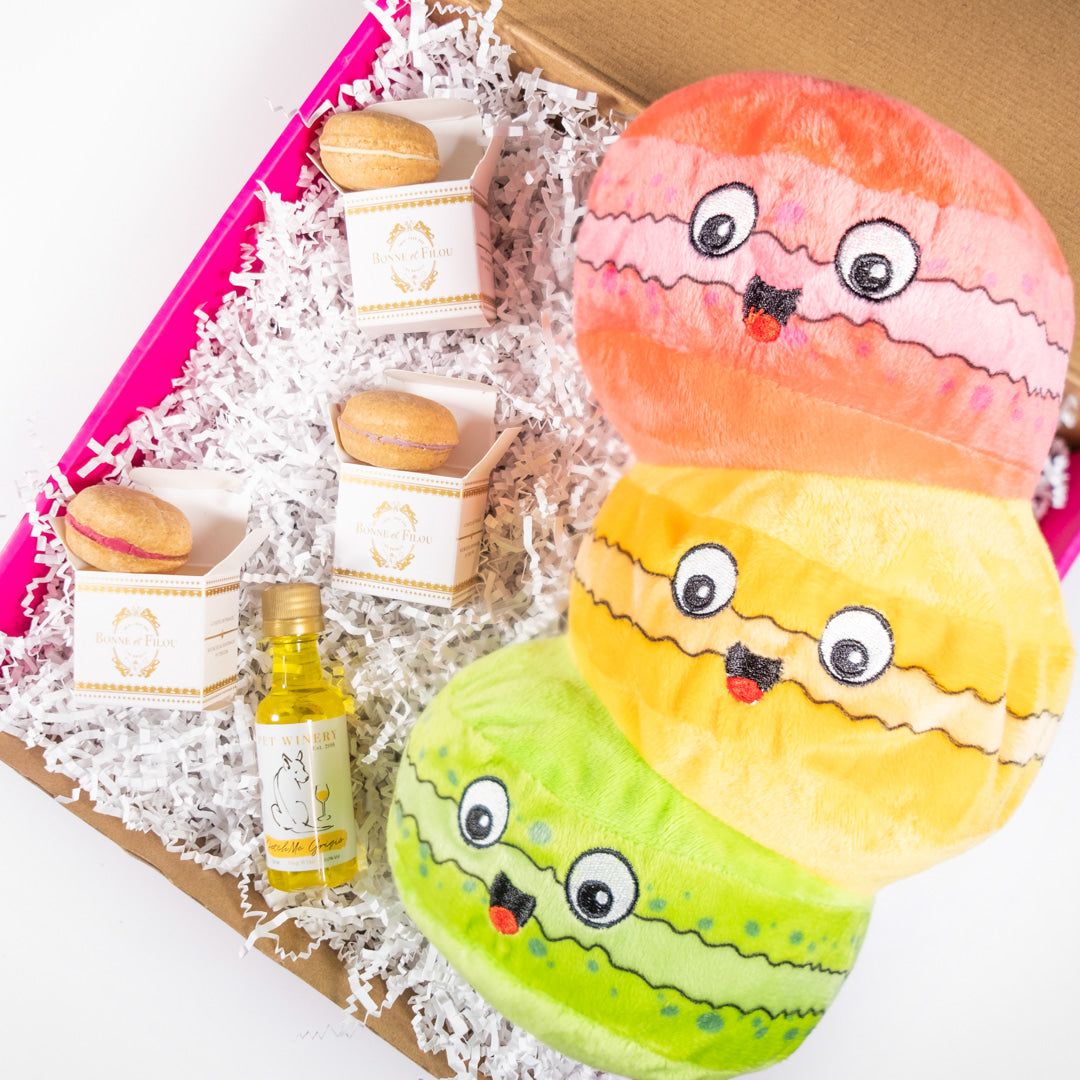 Monsieur et Mademoiselle Macaron Set-Puppy Care Package-Gift Spawt