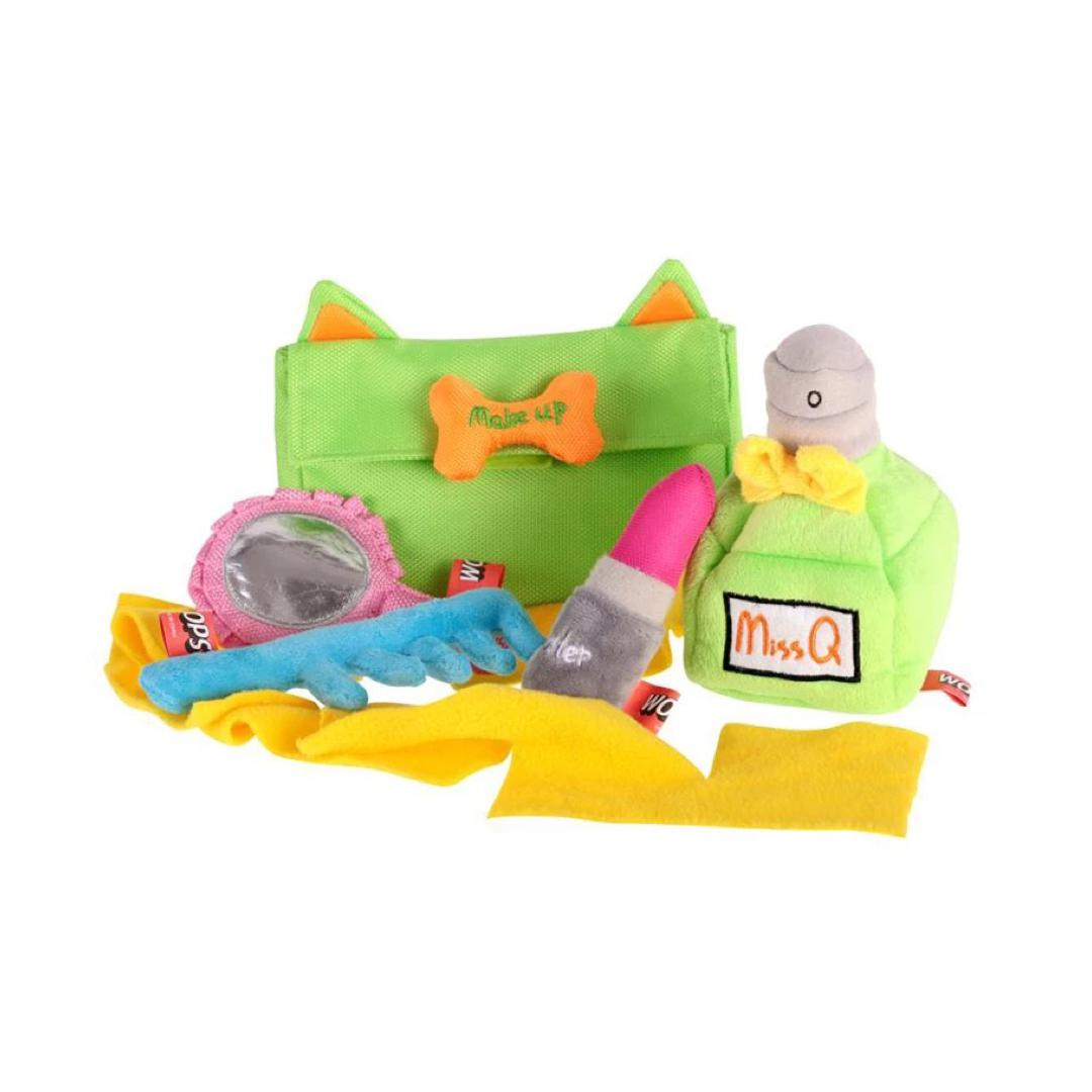 Makeup Bag Toy Set-Plush Dog Toy-Gift Spawt