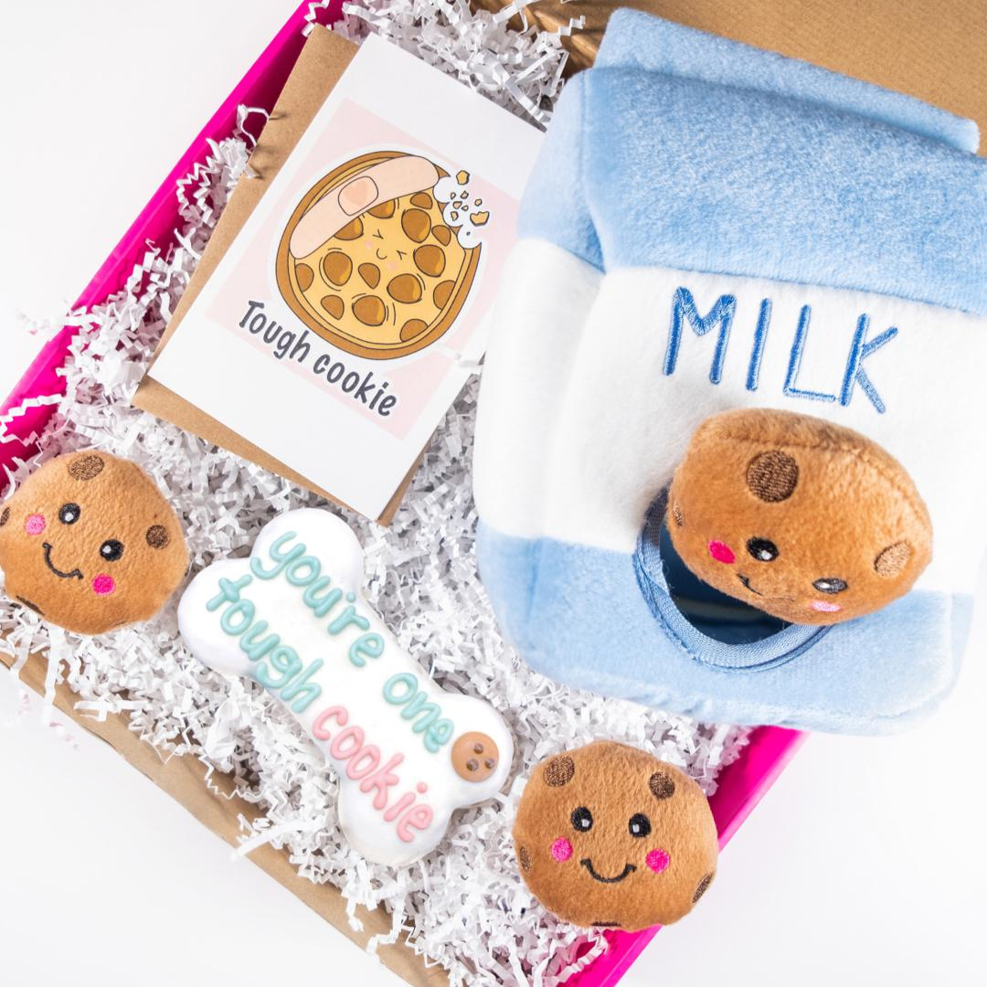 You're One Tough Cookie Gift Set-Puppy Care Package-Gift Spawt