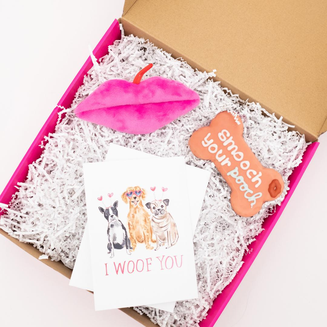 Smooch Your Pooch Gift Set-Puppy Care Package-Gift Spawt