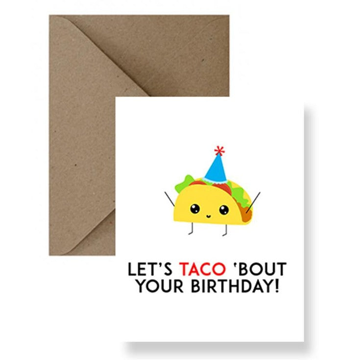 Taco Birthday Card | Greeting Cards | Gift Spawt
