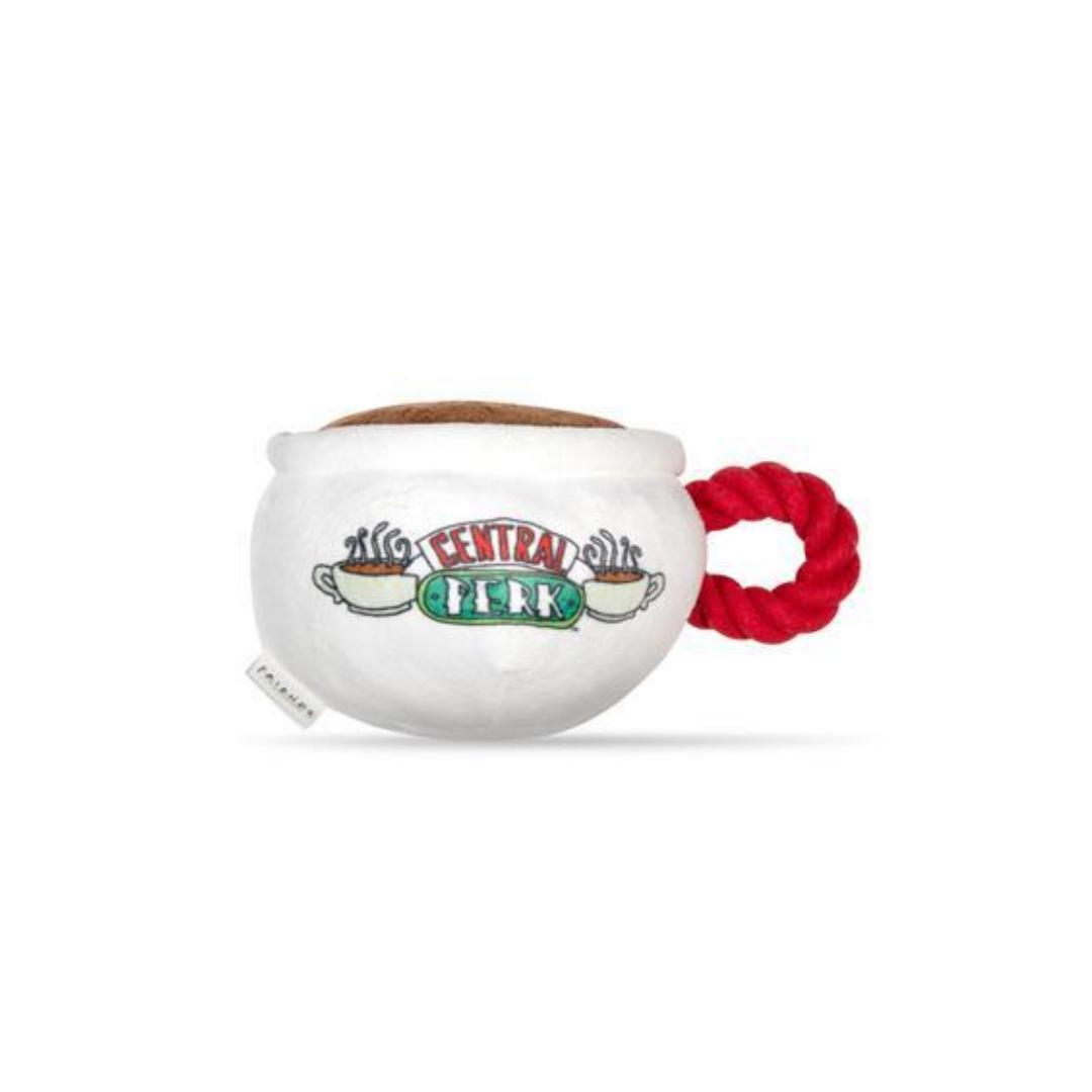 Friends Dog Toy - Central Perk Coffee Cup-Plush Dog Toy-Gift Spawt