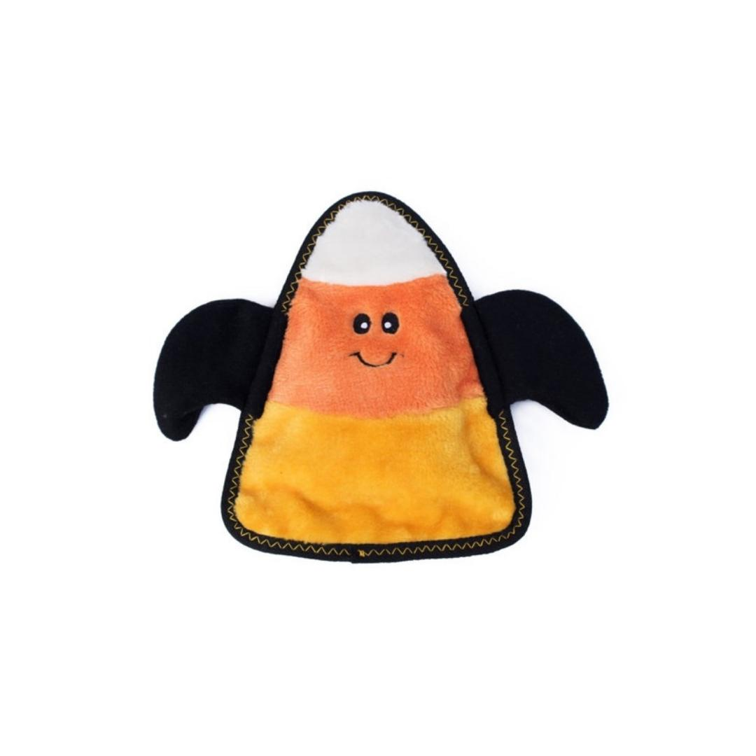 Halloween Z-Stitch Candy Corn Bat-Plush Dog Toy-Gift Spawt