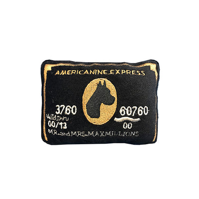 Americanine Express Bark Credit Card