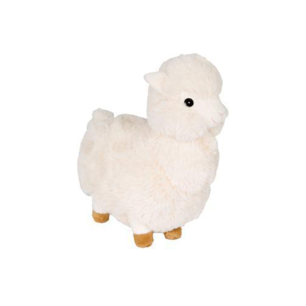 Fuzzy Llama - Cream-Plush Dog Toy-Gift Spawt
