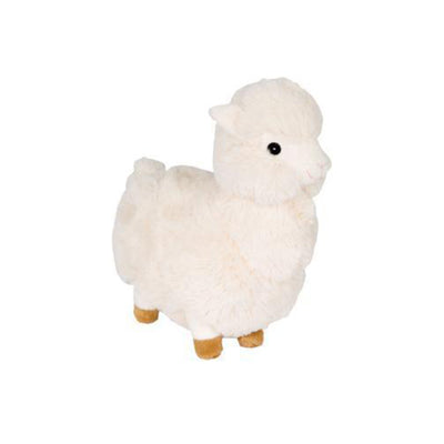 Fuzzy Llama - Brown and Cream | Plush Dog Toys | Gift Spawt