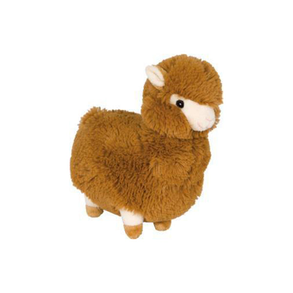 Fuzzy Llama - Brown-Plush Dog Toy-Gift Spawt