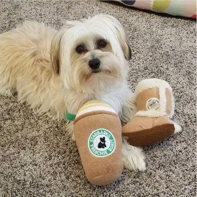 Pugg Boot-Plush Dog Toy-Gift Spawt