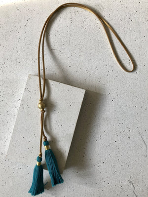 The Double-Time Tassel Necklace