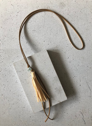 The Marie Tassel Necklace