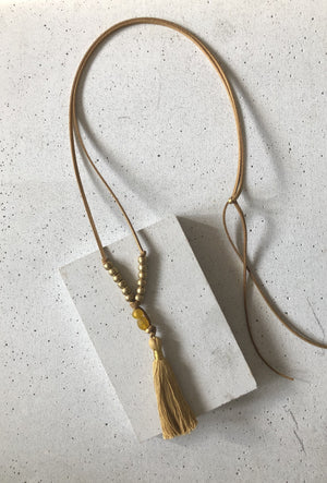 The Austin Tassel Necklace