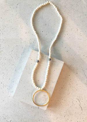 The Grey & Jade Necklace