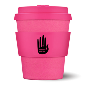 HW E-Coffee Cup - humble warrior plant based healthy drinks