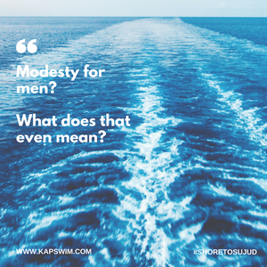 Modesty for men?