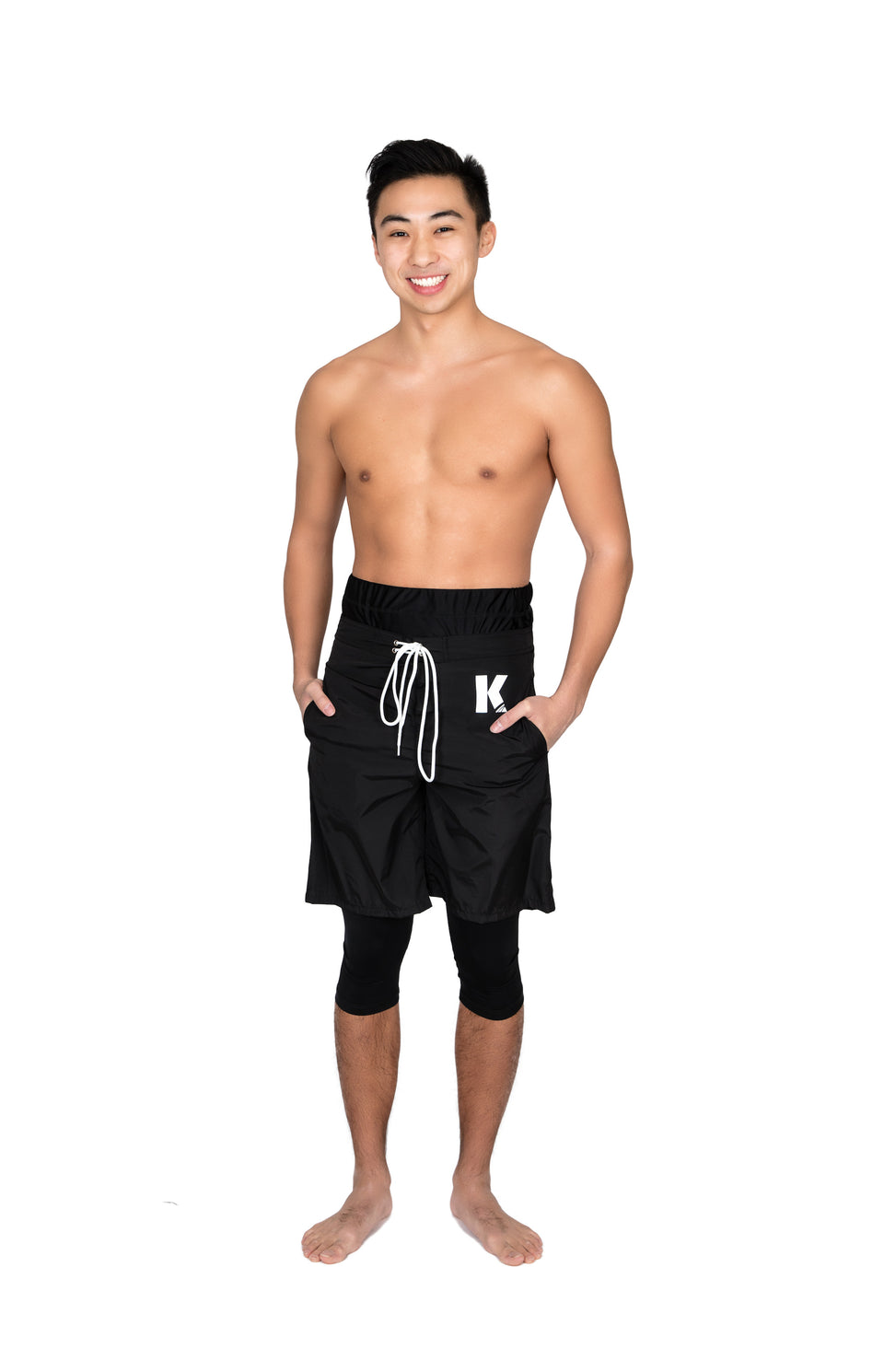 Kap Swim Halal Swim Short for men full product detail