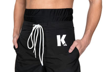 Kap Swim Halal Swim Short for men front detail_covering the navel/belly