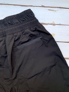 Kap Swim Halal Swim Short for men back detail_covering the navel/belly with zipper pocket