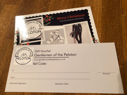 Gentlemen of the Peloton e-Gift Vouchers