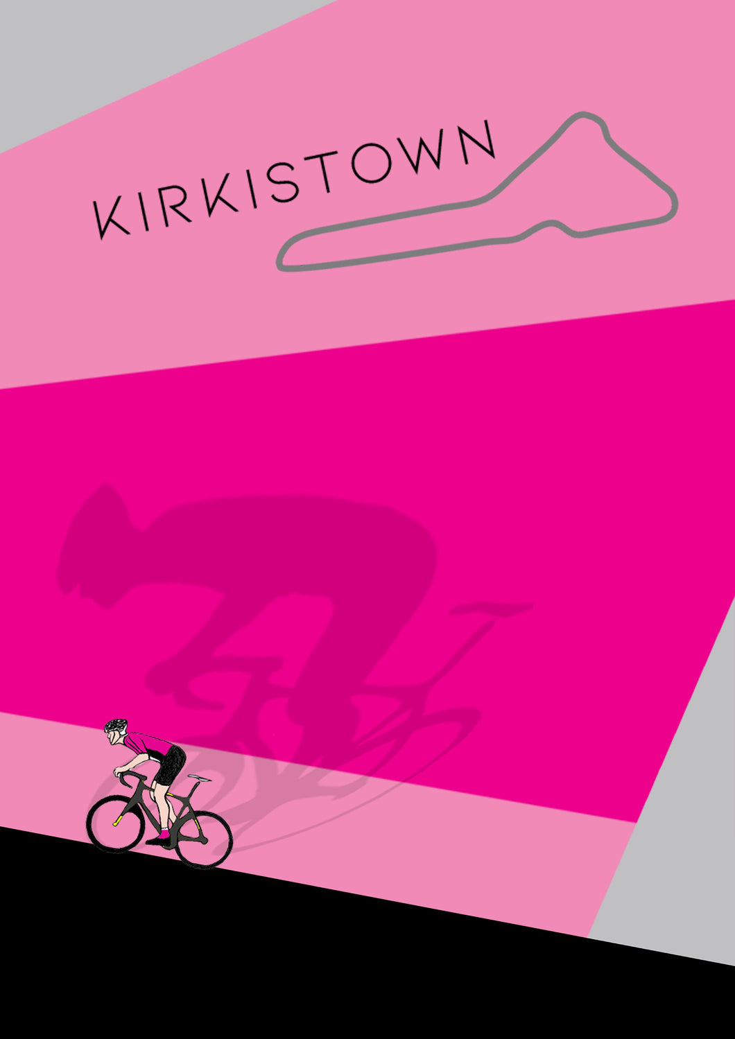 Kirkistown Race Print - Signed Limited Edition A4