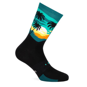 Pacific & Co Sunrise Performance Cycling Socks
