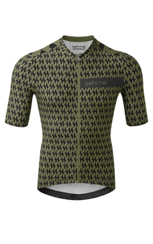 Ashmei Houndstooth Jersey Moss