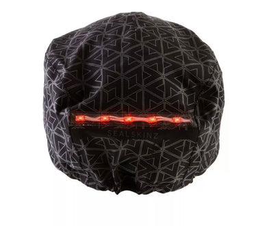 SEALSKINZ Halo Waterproof LED Helmet Cover Grey