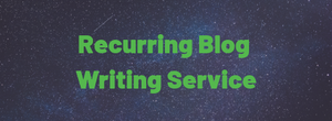 Recurring Blog Writing Services