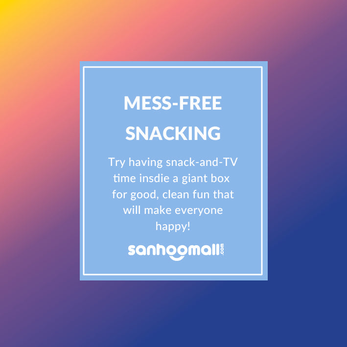 MESS-FREE SNACKING