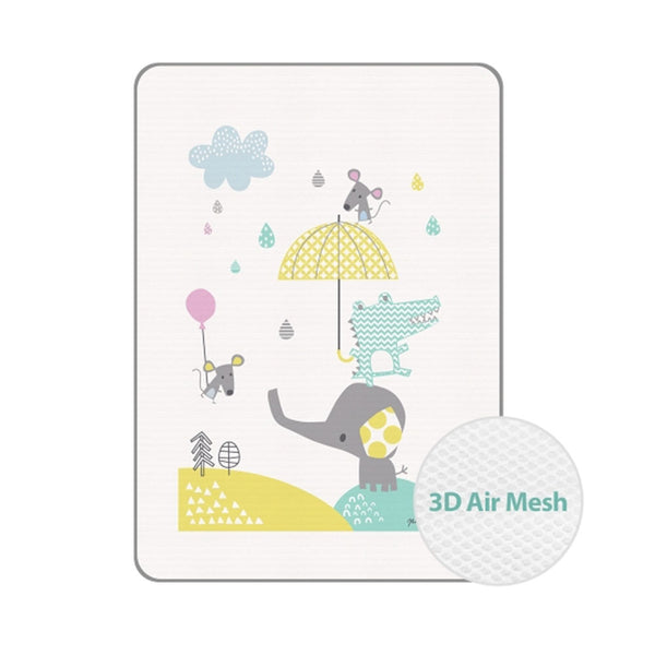 쥬쥬랜드 3D 에어매쉬 방수패드_특대 <br /> Zoozoo Land 3D Air Mesh Waterproof Pad_Size:XL