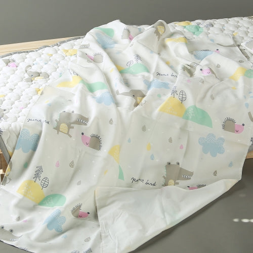 쥬쥬랜드 인견 홑이불 <br /> Zoozoo Land 1-Layer Summer Bedding Sheet