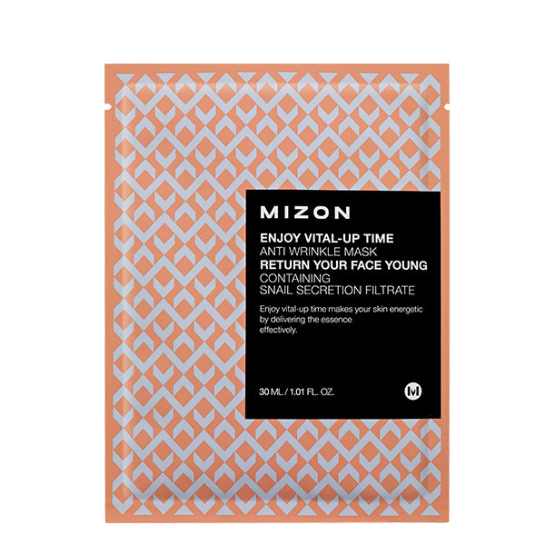 ENJOY VITAL-UP TIME ANTI WRINKLE MASK - Mizon / Mascarilla facial anti-arrugas