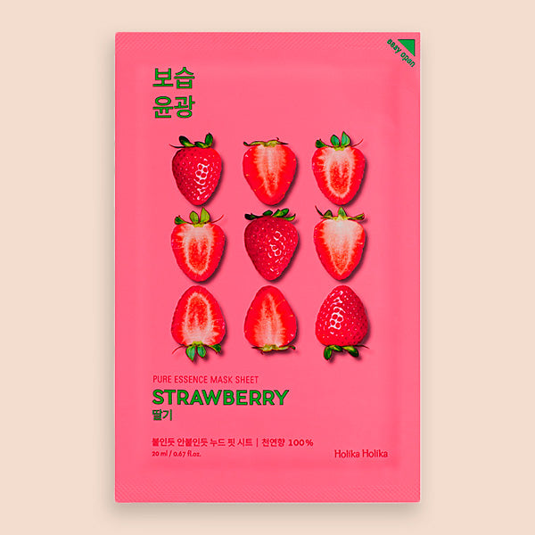 Holika Holika Pure Essence Mask Sheet Strawberry / Mascarilla Facial