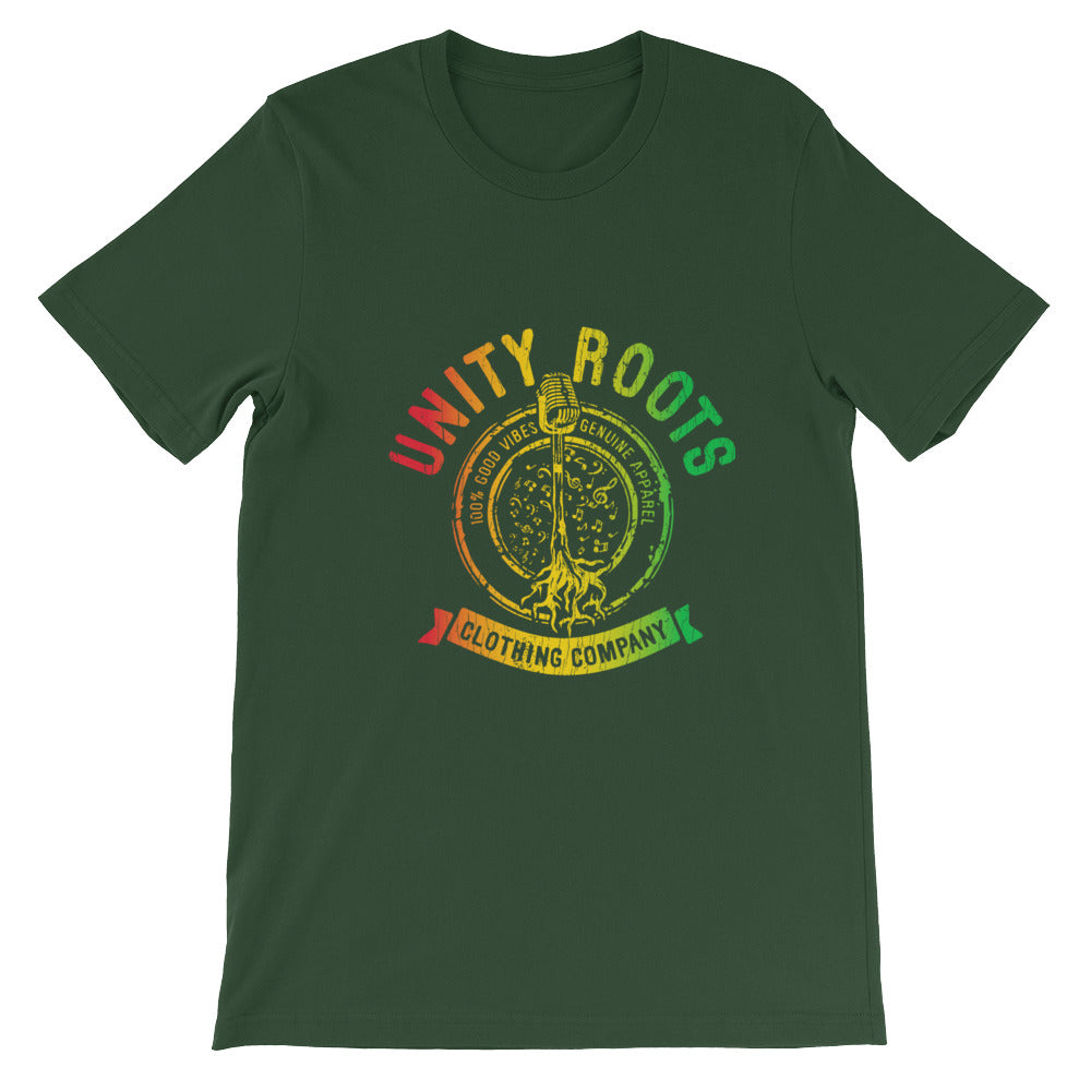 Mens Mic'd Up Forest/Rasta Short-Sleeve T-Shirt